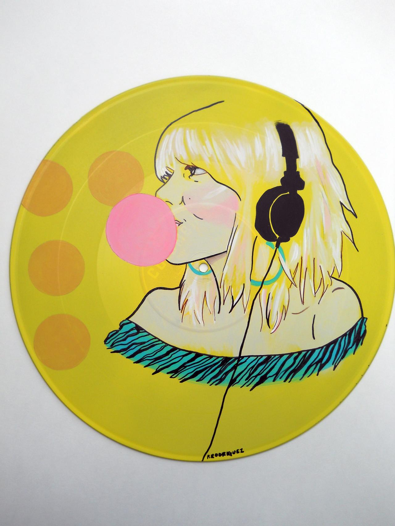 electriclollipop - Vinyl Record Art